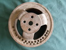 1956 1955 Ford Air Conditioning A/C Water Pump Pulley 3 Groove OEM FoMoCo 56 AC