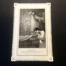 Image Pieuse Les Voiles Eucharistiques Ch. Letaille Paris N°479 Dentelle