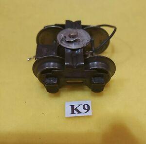 Lionel prewar Whistle Tender Wheel Truck, roller pickup & very nice!!! K9