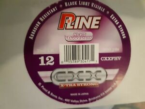 P LINE HI VIS FLURESCENT CXX XTRA STRONG 260/300YDS VARIOUS TEST LB CXXFHV NEW