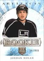 2012-13 Artifacts Kings Hockey Card #175 Jordan Nolan RC /999