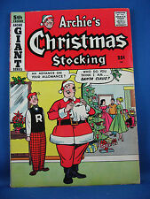 ARCHIE'S CHRISTMAS STOCKING 5 VG Fine 1958