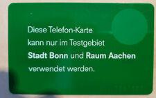 TK Testgebiet Bonn Aachen 5 Einheiten MIT NUMMER Modul Silber SEHR SELTEN !
