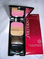 Shiseido Face Color Enhancing Trio RS1 PLUM Blush Compact Mirror Full Sized NIB