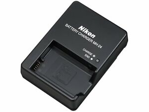 Ladegerät Nikon MH-24 für Nikon D5600, D5500, D5300, D3400, D3300, D3200 u.v.a.