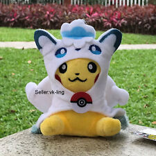 "Pokemon Go Plush Toy Pikachu Alola Vulpix Cute Stuffed Animal Ornaments Doll 5"""
