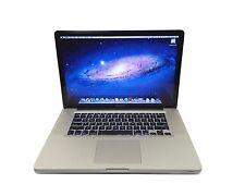"""Apple MacBook Pro Core i7 2.4GHz 6GB RAM 750GB HD 15.4"""" MD322LL/A"""