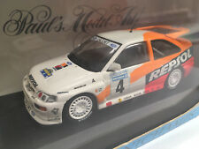 1:43 Minichamps Ford Escort Cosworth Repsol Sainz WRC Rallye Schweden 1996
