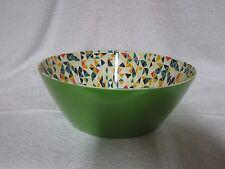 New Decorative Melamine Serving Bowl, 11 1/2 inch, Green