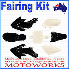 Plastics Guard Fairing Fender Kit CRF50 Style 125cc PIT PRO Trail Dirt Bike BLAC