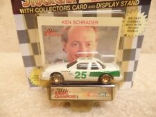 1991 Racing Champions 1:64 NASCAR Ken Schrader Unsponsored Buick Regal #25 b