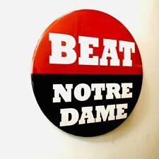 UGA Georgia Bulldogs Beat Notre Dame Button September 21, 2019 Athens, Georgia