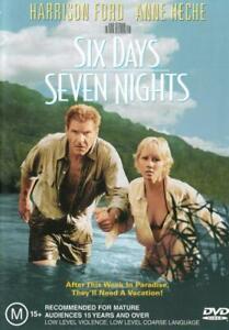 Six Days, Seven Nights  - DVD - NEW Region 4