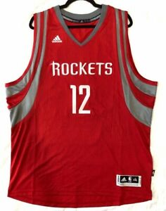 DWIGHT HOWARD HOUSTON ROCKETS 2XL, 3XL OR 4XL ADIDAS CLIMACOOL SWINGMAN JERSEY