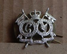 The Queens royal lancers Collar Badge Genuine