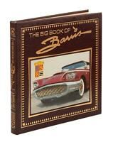 GEORGE BARRIS - BIG BOOK OF BARRIS  LEATHER BOUND SIGNED HARDCOVER 2003 HOT RODS
