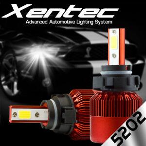 388W 38800LM 6000K COB LED Fog Light Kit H16 5202 9009 XENON White Bulbs