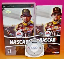 NASCAR (Sony PSP, 2006) Rare Complete Racing Game Playstation Portable 1-4 Playr