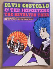 Elvis Costello & the Imposters Revolver 2012 Tour Program