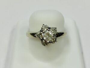 Ring, 925 Silber, mit Zirkon, 3,63g, Ringgröße 55  44917