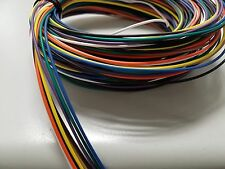 AUTOMOTIVE WIRE 22 AWG HIGH TEMP TXL WIRE 9 COLORS STRANDED 25 FT COIL