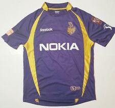 REEBOK 2012 Kolkata Knight Riders Cricket Team Jersey Shirt #10 Mens Sz Medium