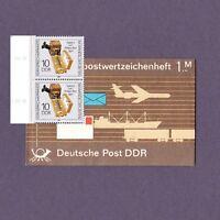 DDR Markenheftchen Sonderpostwertzeichenheft 1,- M 1989 Fernsprechapparate...