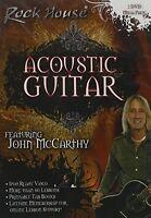 Rock House: Acoustic Guitar - Beginner and Intermediate [2 discs (2014, DVD New)