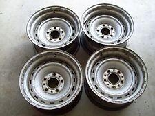 4-67-72 73-87 Chevy Gmc Truck Suburban Blazer 15x8 5 Lug Rally GM Steel Wheels
