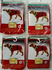 Lot of 4 extra small Christmas Santa elf dog pet costume Chihuahua Yorkie 🐕
