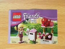 Lego Friends 30105 Mailbox - Instruction Manual Only