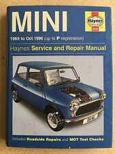 Mini Service And Repair Manual by Haynes 1969 to Oct 1996