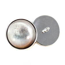 Dead Zombie Sew On Glass Eyes 16mm Button Loops for Stuffed Doll Plushies