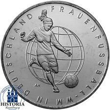 Deutschland 10 Euro 2011 bfr Frauenfussball WM Deutschland Münze in Münzkapsel