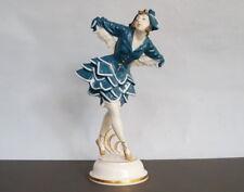 Grosse  ART DECO  Figur  RUSSISCHE TÄNZERIN   Russian dancer  um 1924