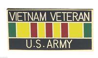 Vietnam Veteran US ARMY Service Ribbon Hat or Lapel Collectors Pin H15627D3