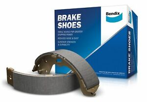Bendix Brake Shoe Set BS5094 fits Porsche Cayenne 3.6 (220kw), 3.6 (9PA) 213k...
