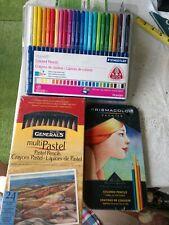 Lot Of 3 Set Of Colored Pencils Staedtler, Generals, Prismacolor