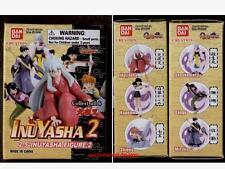 Bandai INUYASHA 2 Gashapon 6 Trading Figure Set SESSHOMARU Kagome SANGO Shippo
