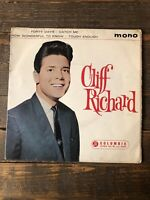 "Cliff Richard Forty Days UK 45 7"" EP Columbia SEG 8151 Picture Sleeve Mono"
