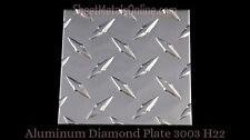 "Diamond Plate Aluminum Sheet Metal (0.063""/16 Gauge) 30 in. x 10 in."