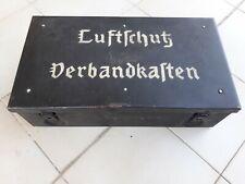 Luftschutz Verbandkasten Luftwaffe Allemand Medical German Bomb Shelter WW2 Heer