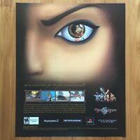 Rise of the Kasai PS2 Playstation 2 2005 Vintage Poster Ad Art Print Mark of Kri