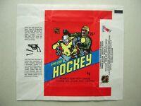 1981/82 O-PEE-CHEE HOCKEY CARD WAX PACK WRAPPER PAUL COFFEY ROOKIE SCD NICE OPC