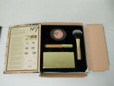 No. 7 Glamorous Nudes Luxe In A Box Eyeshadow Blush Lip Gloss Set Cosmetics Kit