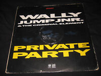 Wally Jump Jr & The Criminal Element Private Party 12 Vinyl Record 1987 Breakout