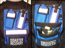 Radio Chest Pack, Chest Pack, Deluxe, Radio Pack, Custom Color and Names