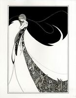 Aubrey Beardsley - Victorian Era Art Photo / Poster Print 1872/1898