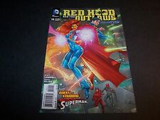 RED HOOD AND THE OUTLAWS #14 BATMAN DEATH OF THE FAMILY TIE-IN JOKER'S BACK