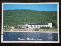 POSTCARD INVERNESS-SHIRE FORT WILLIAM - MERCURY HOTEL